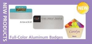 Aluminum Badges